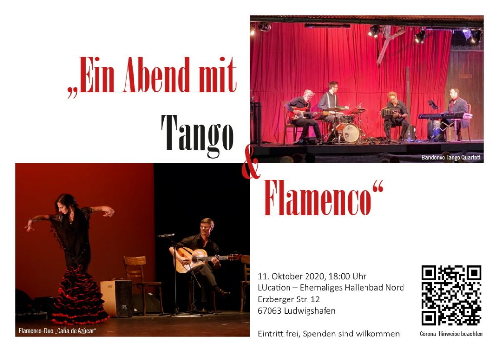 "Ein Abend mit Tango & Flamenco"" in Ludwigshafen"