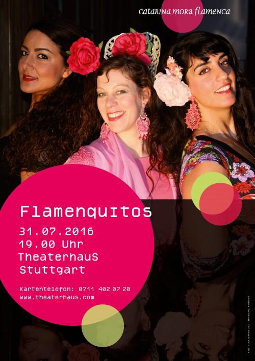 Flamenco Auftritt bei Flamenquitos in Stuttgart am 31.07.2016
