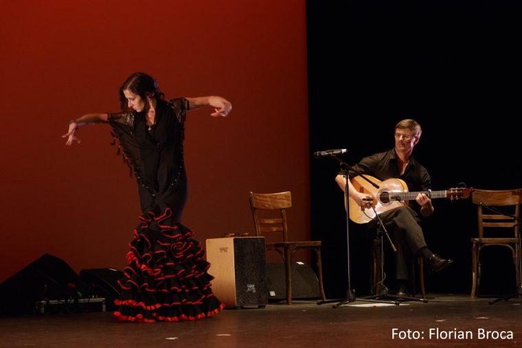 Flamenco-Auftritt im Theaterhaus Stuttgart - 2016