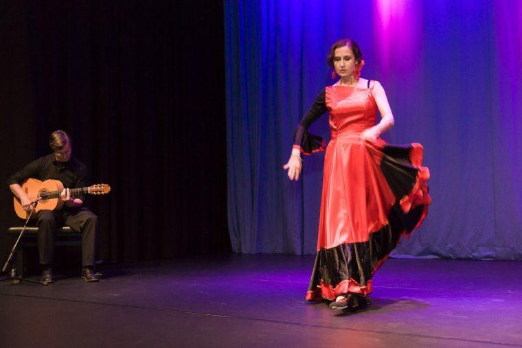 Flamenco-Auftritt in Wiesbaden – Kulturforum – Tanz Magie - 2017